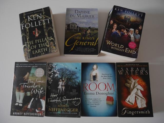 Book haul oktober 2015